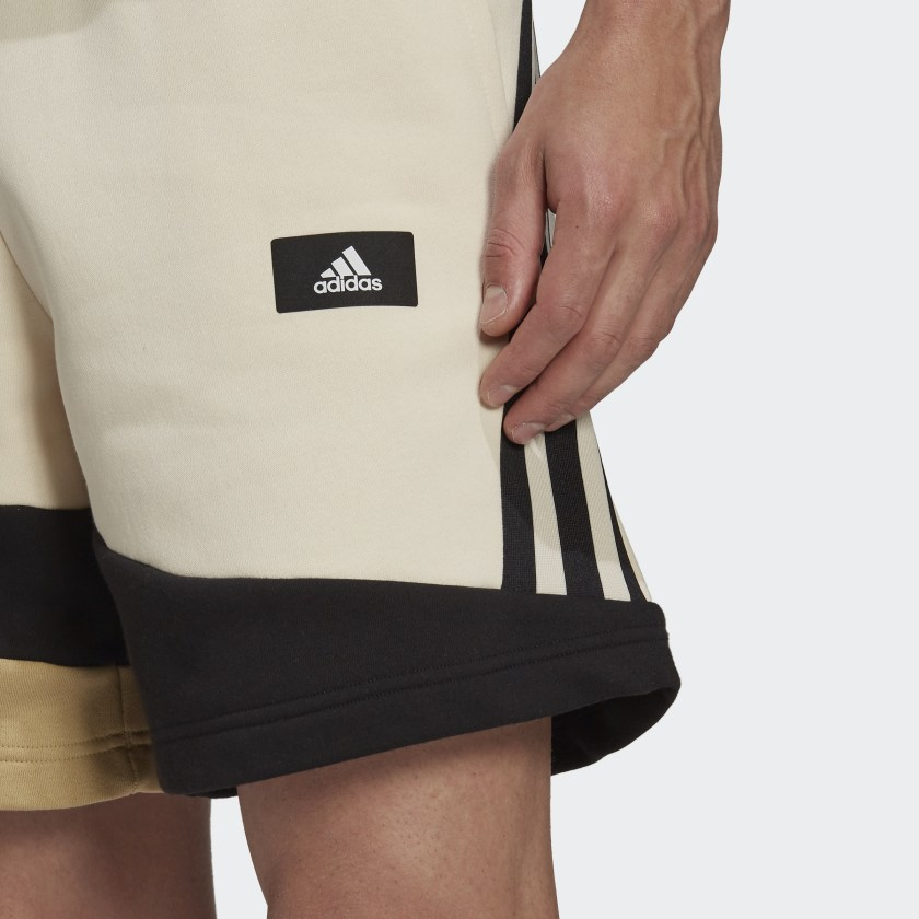 adidas Sportswear Colorblock Shorts White H39769 41 detail