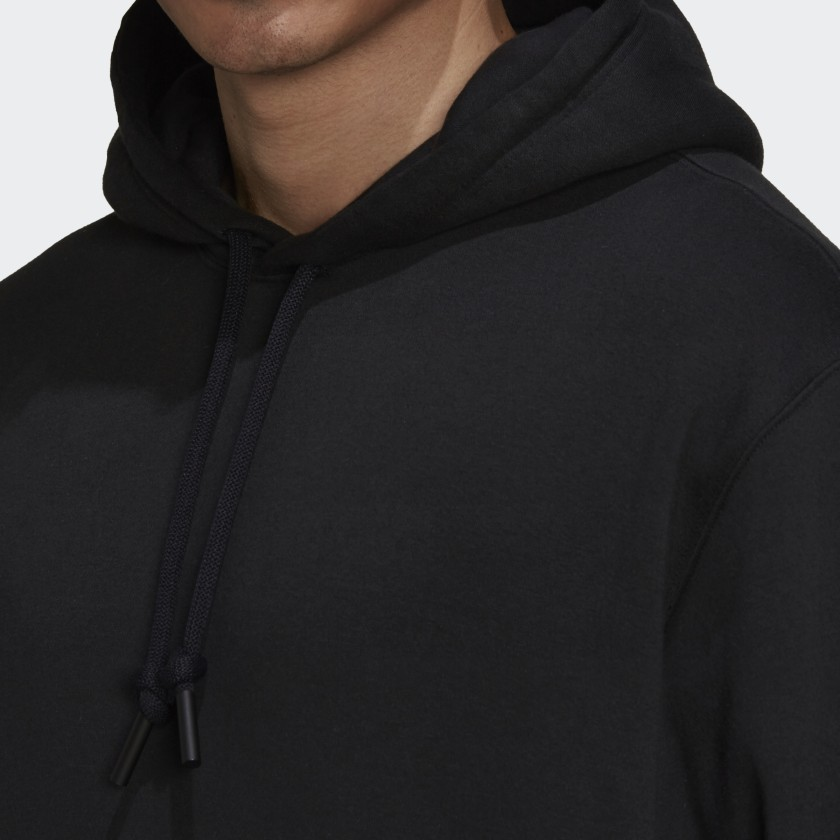 adidas Sportswear Comfy and Chill Fleece Hoodie Black H45382 41 detail