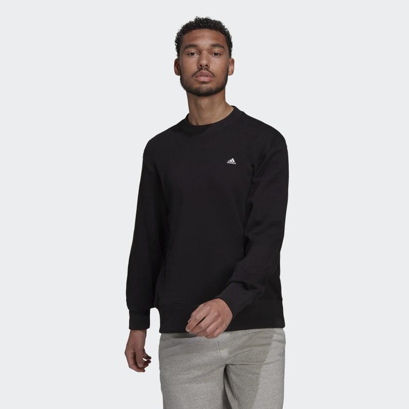 adidas Sportswear Comfy and Chill Sweatshirt Black H45395 21 model