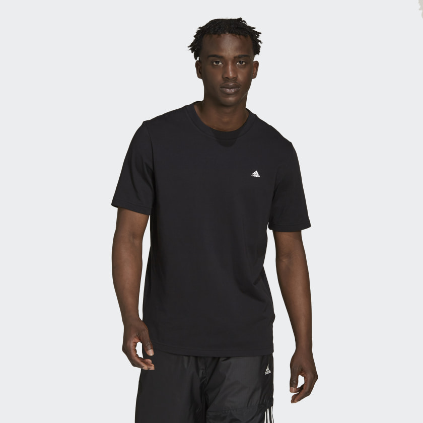 adidas Sportswear Comfy and Chill Tee Black H21533 21 model
