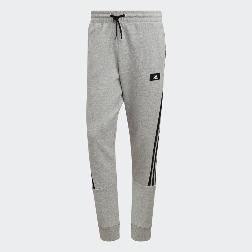 adidas Sportswear Future Icons 3 Stripes Pants Grey H39776 01 laydown