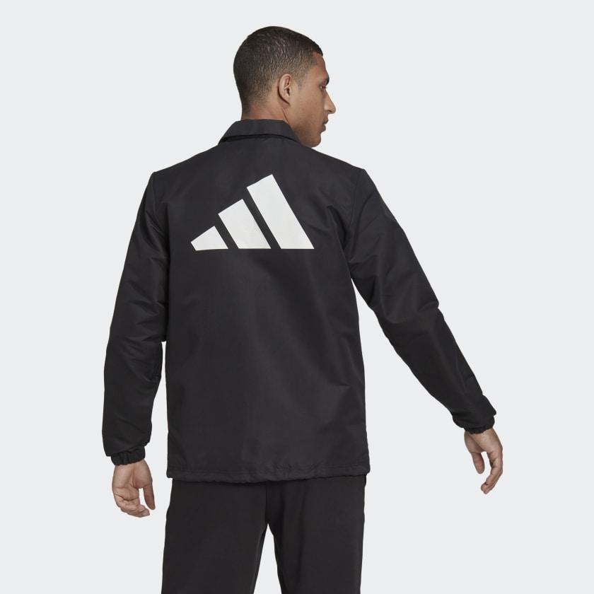 adidas Sportswear Future Icons Coach Jacket Black H39794 23 hover model