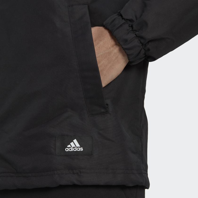 adidas Sportswear Future Icons Coach Jacket Black H39794 41 detail