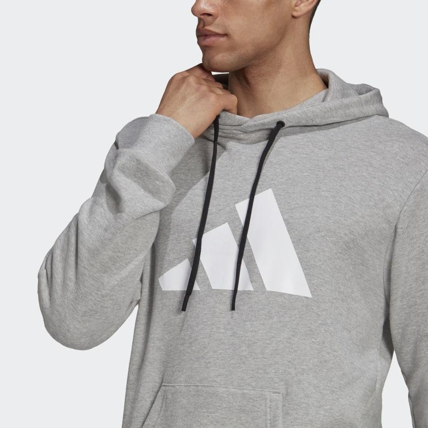 adidas Sportswear Future Icons Logo Graphic Hoodie Grey H39802 41 detail