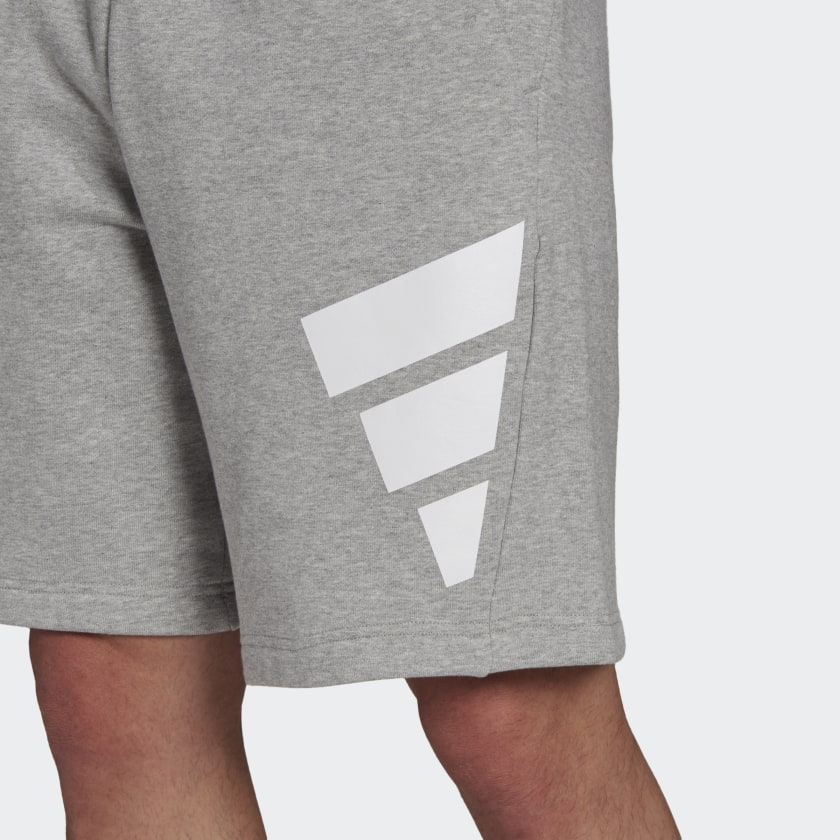 adidas Sportswear Future Icons Logo Graphic Shorts Grey GR4109 41 detail