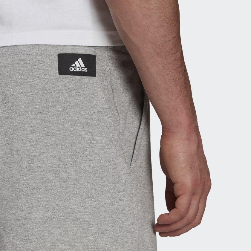 adidas Sportswear Future Icons Logo Graphic Shorts Grey GR4109 42 detail
