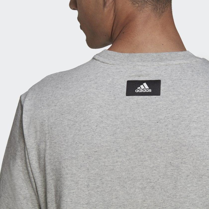 adidas Sportswear Future Icons Logo Graphic Tee Grey HA7682 42 detail