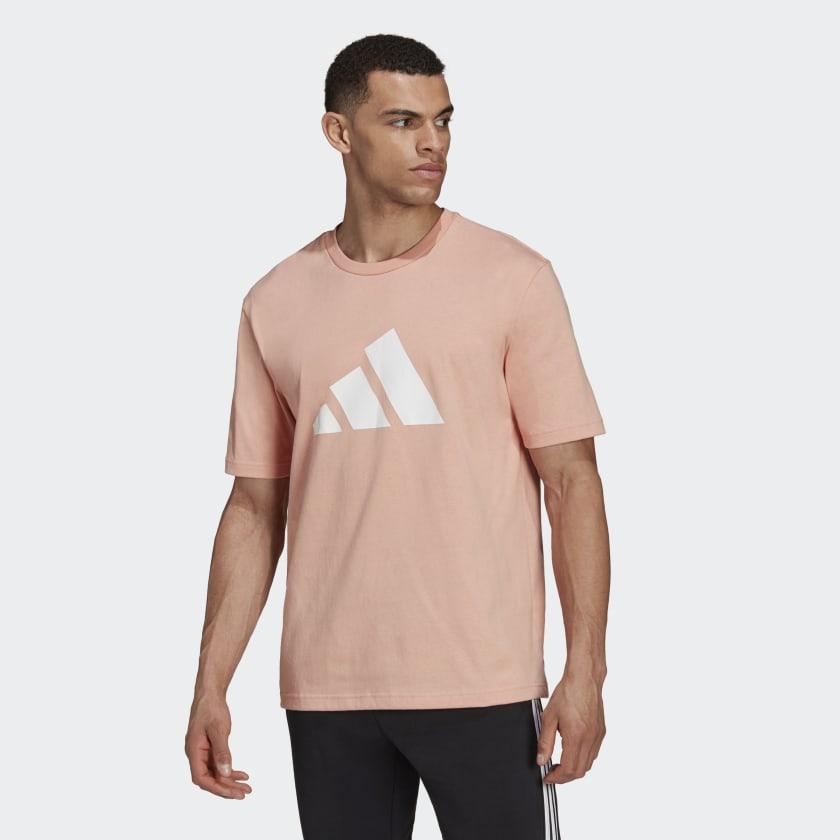 adidas Sportswear Future Icons Logo Graphic Tee Pink H39748 21 model
