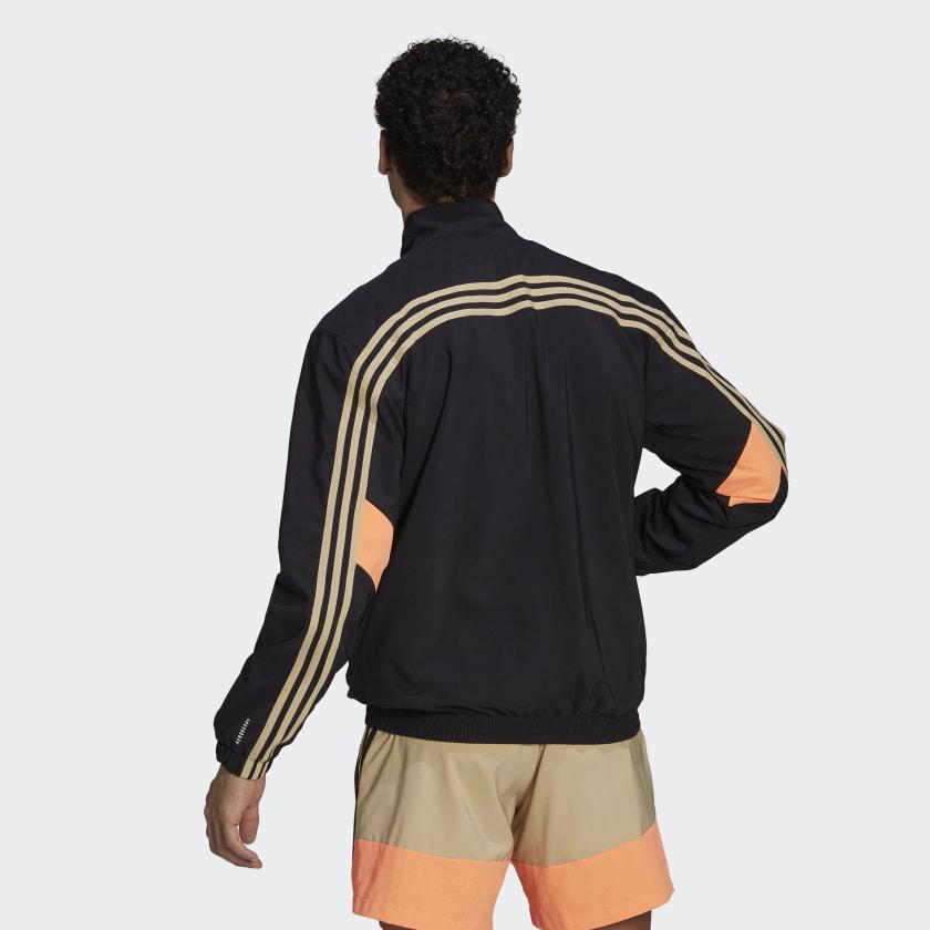 adidas Sportswear Woven 3 Stripes Track Top Black GP2649 23 hover model