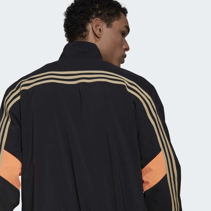 adidas Sportswear Woven 3 Stripes Track Top Black GP2649 42 detail