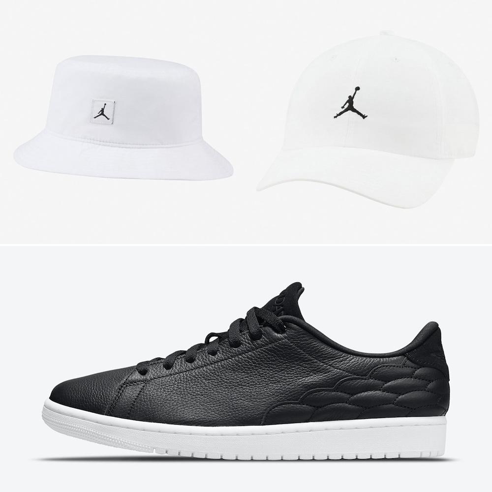 air-jordan-1-centre-court-black-white-hats