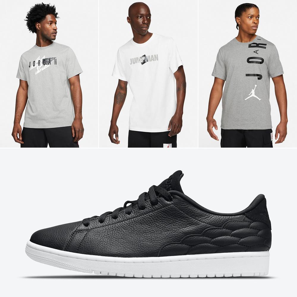 air-jordan-1-centre-court-black-white-shirts