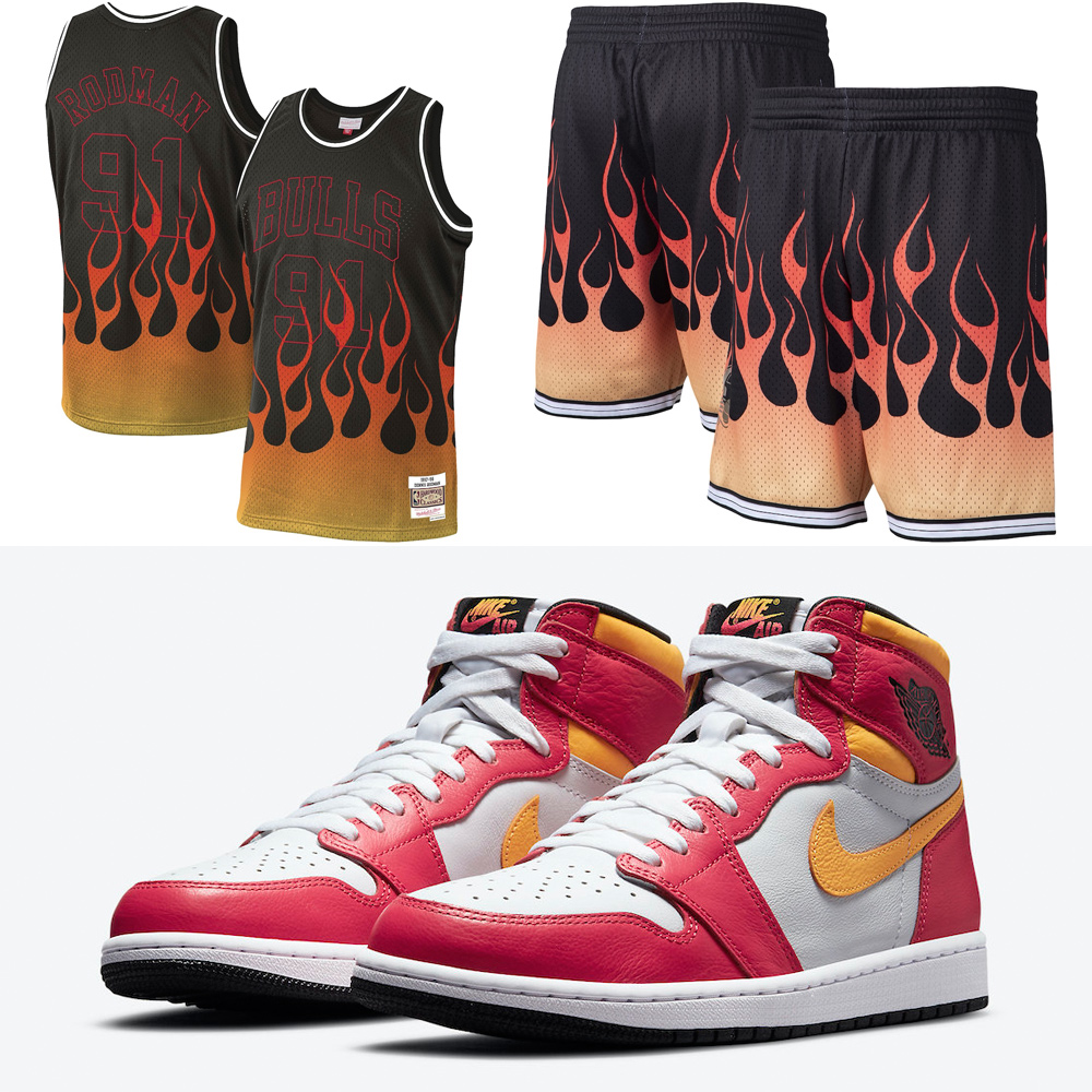 air-jordan-1-light-fusion-red-jersey-shorts-outfit