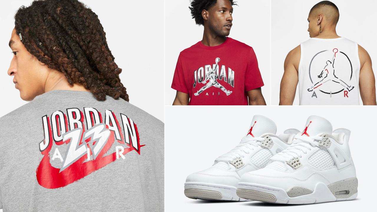 air-jordan-4-white-oreo-sneaker-shirts