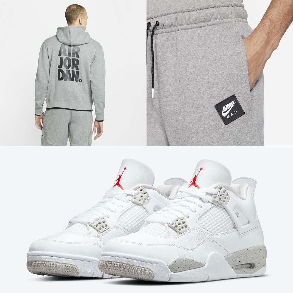 air-jordan-4-white-oreo-tech-grey-hoodie-pants-outfit