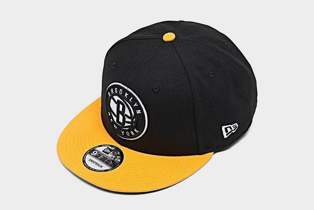 brooklyn-nets-black-yellow-new-era-snapback-hat-2