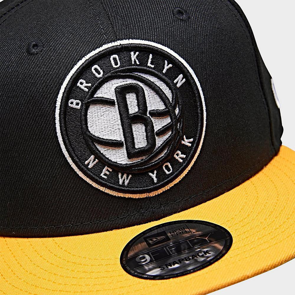 brooklyn-nets-black-yellow-new-era-snapback-hat-3