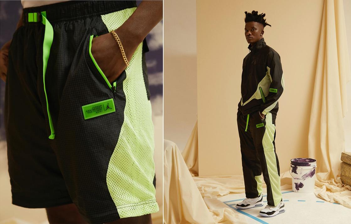 jordan-23-engineered-track-jacket-black-electric-green-pants-shorts