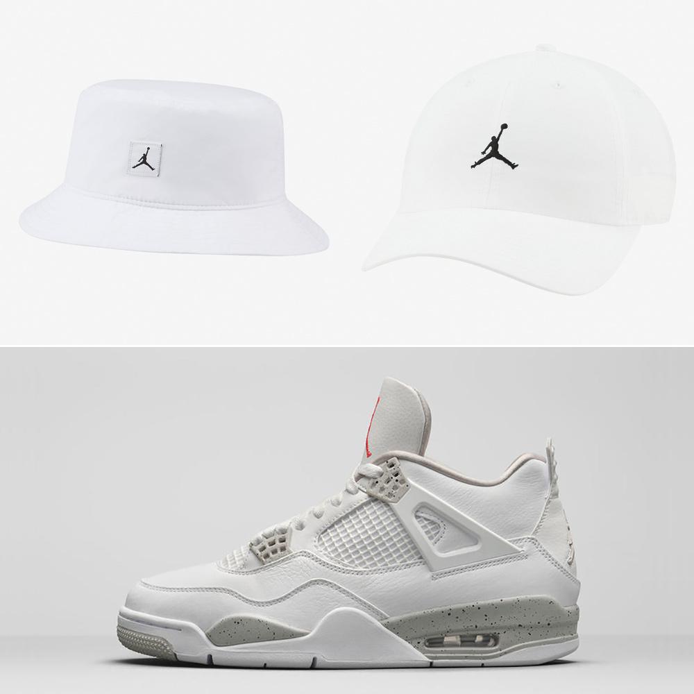 jordan-4-white-oreo-hats