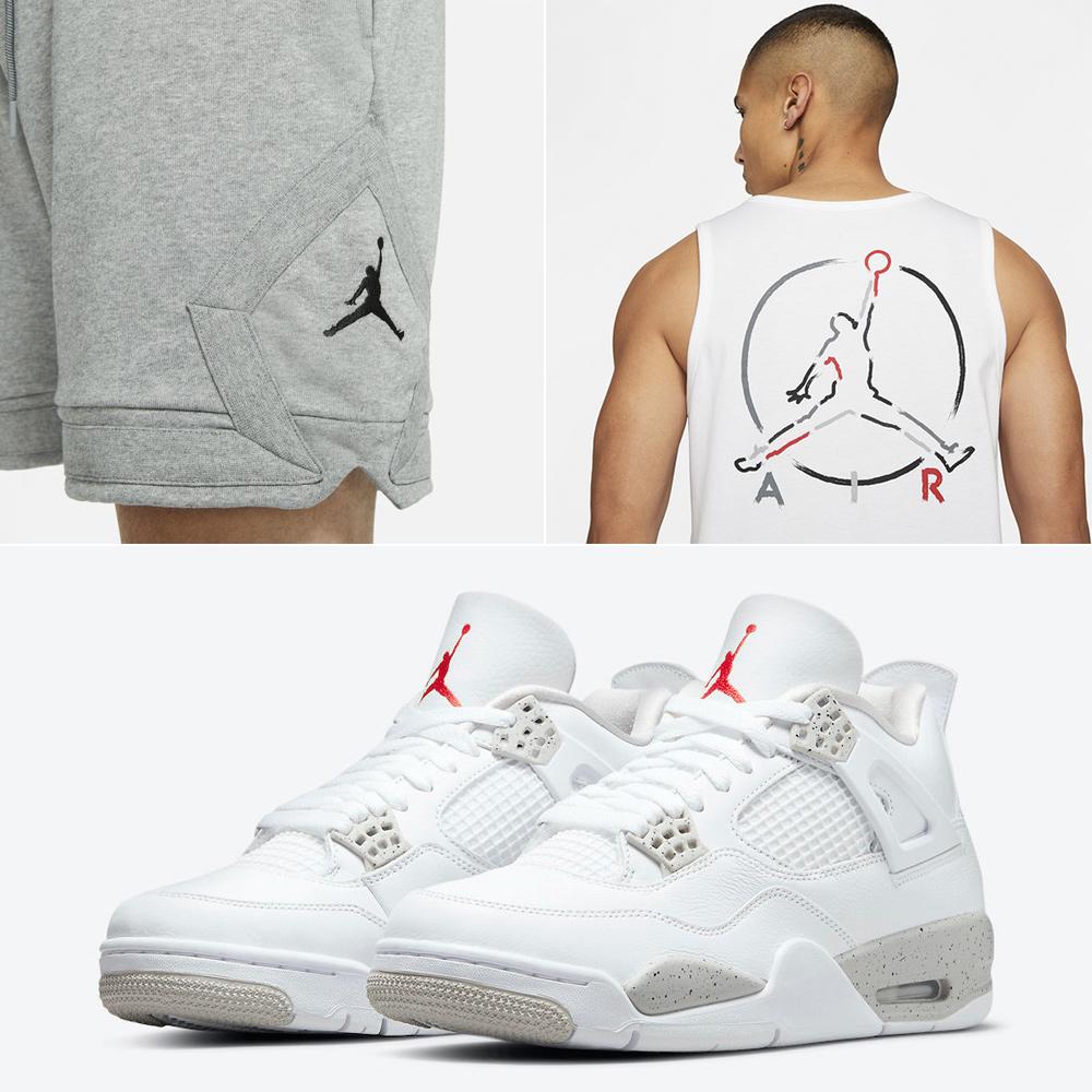 jordan-4-white-oreo-outfit-tank-top-shorts