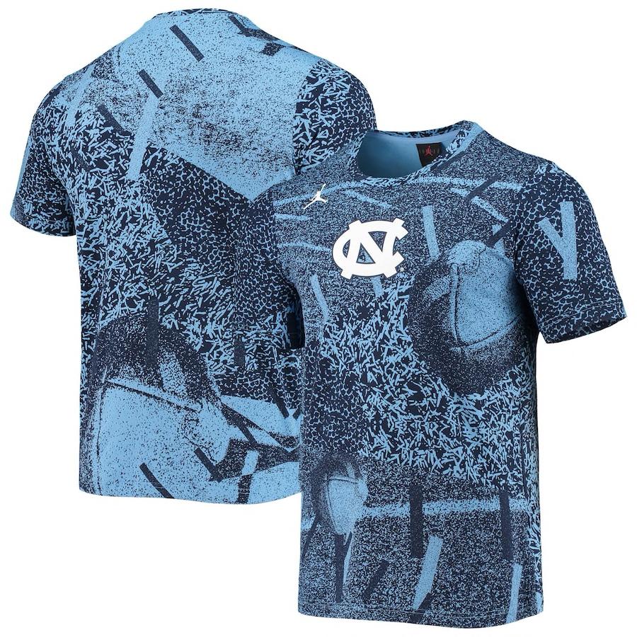jordan-unc-north-carolina-university-blue-shirt