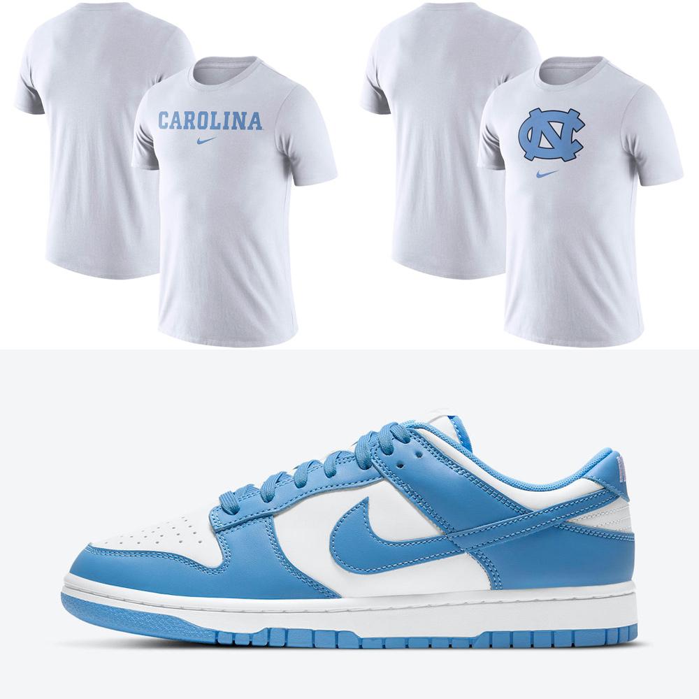 nike-dunk-low-university-blue-shirts
