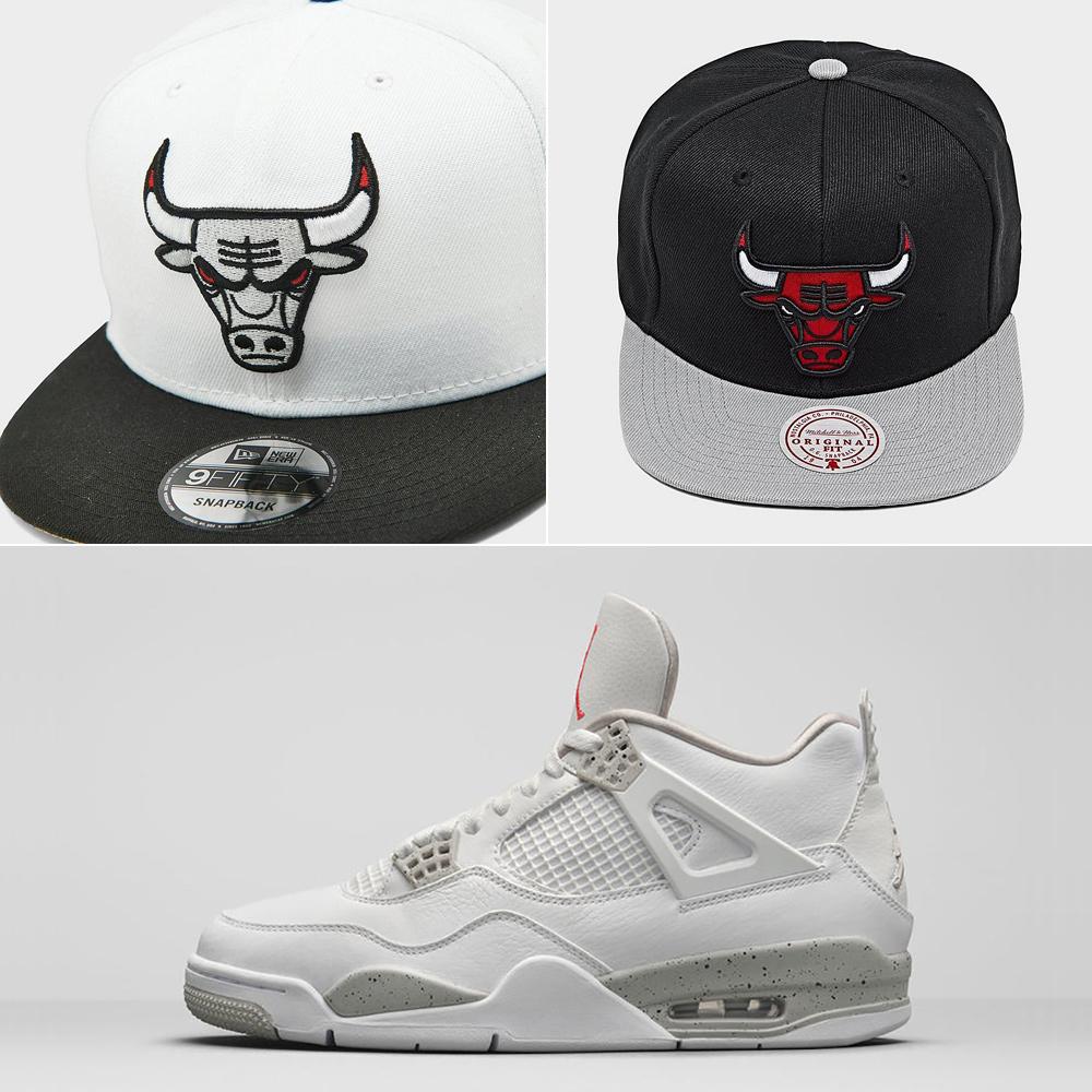 white-oreo-jordan-4-hats