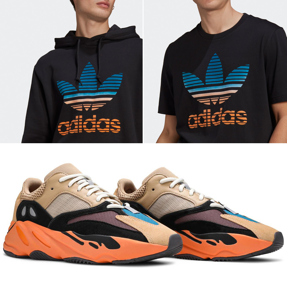 yeezy-700-enflame-amber-shirt-hoodie-match