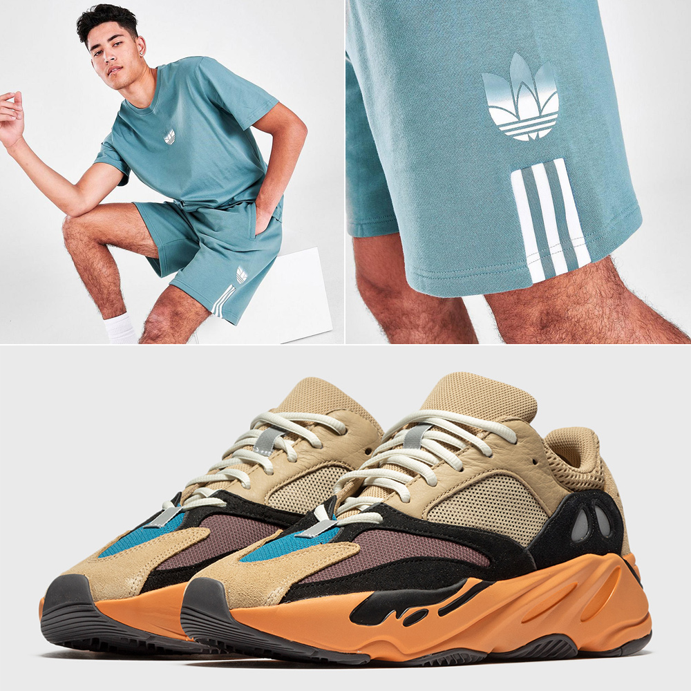 yeezy-boost-700-enflame-amber-shirt-shorts-outfit
