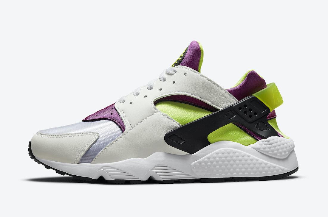 Nike-Air-Huarache-Magenta-Neon-Yellow-DD1068-104-Release-Date