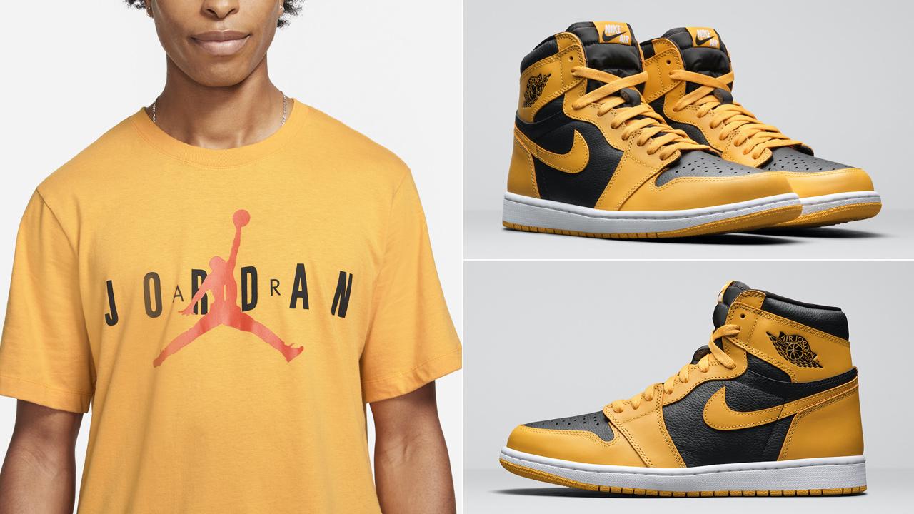 air-jordan-1-high-pollen-t-shirt-match