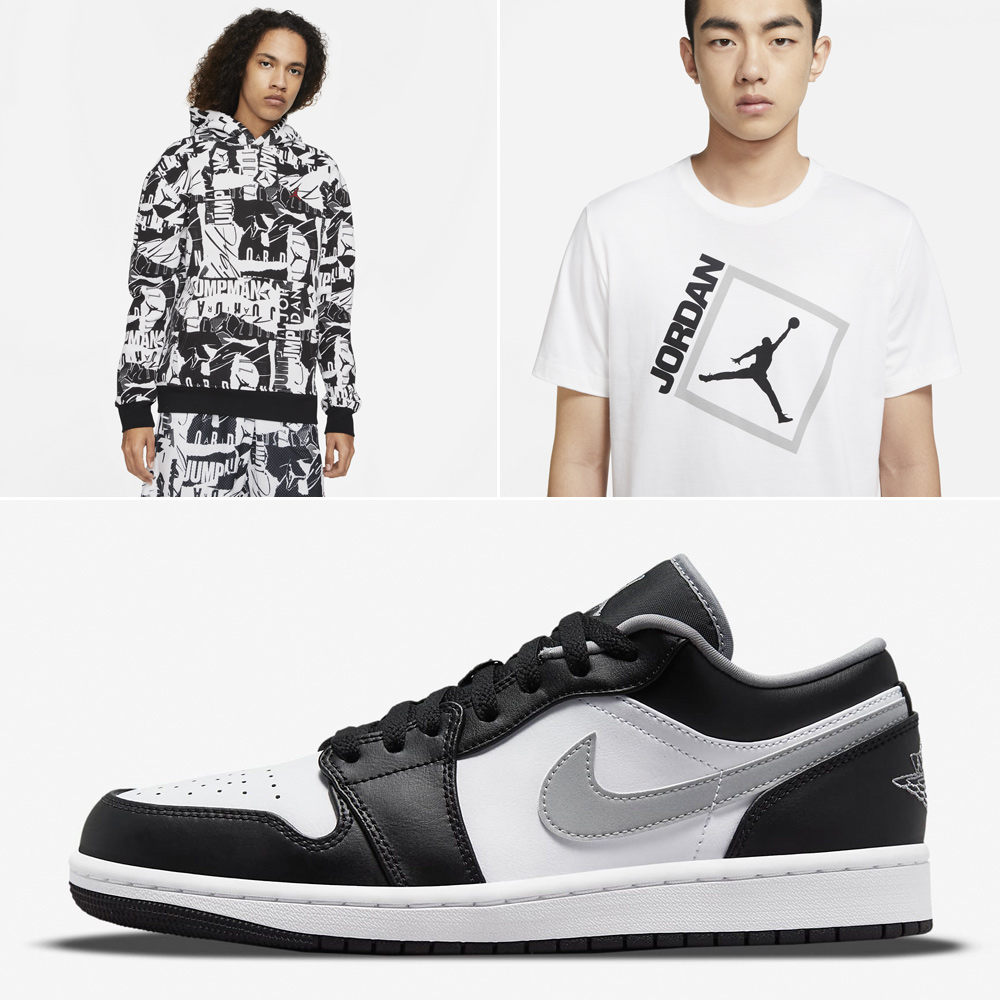 air-jordan-1-low-black-white-particle-grey-clothing