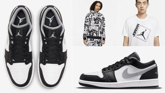air-jordan-1-low-black-white-particle-grey-shirts-clothing-outfits
