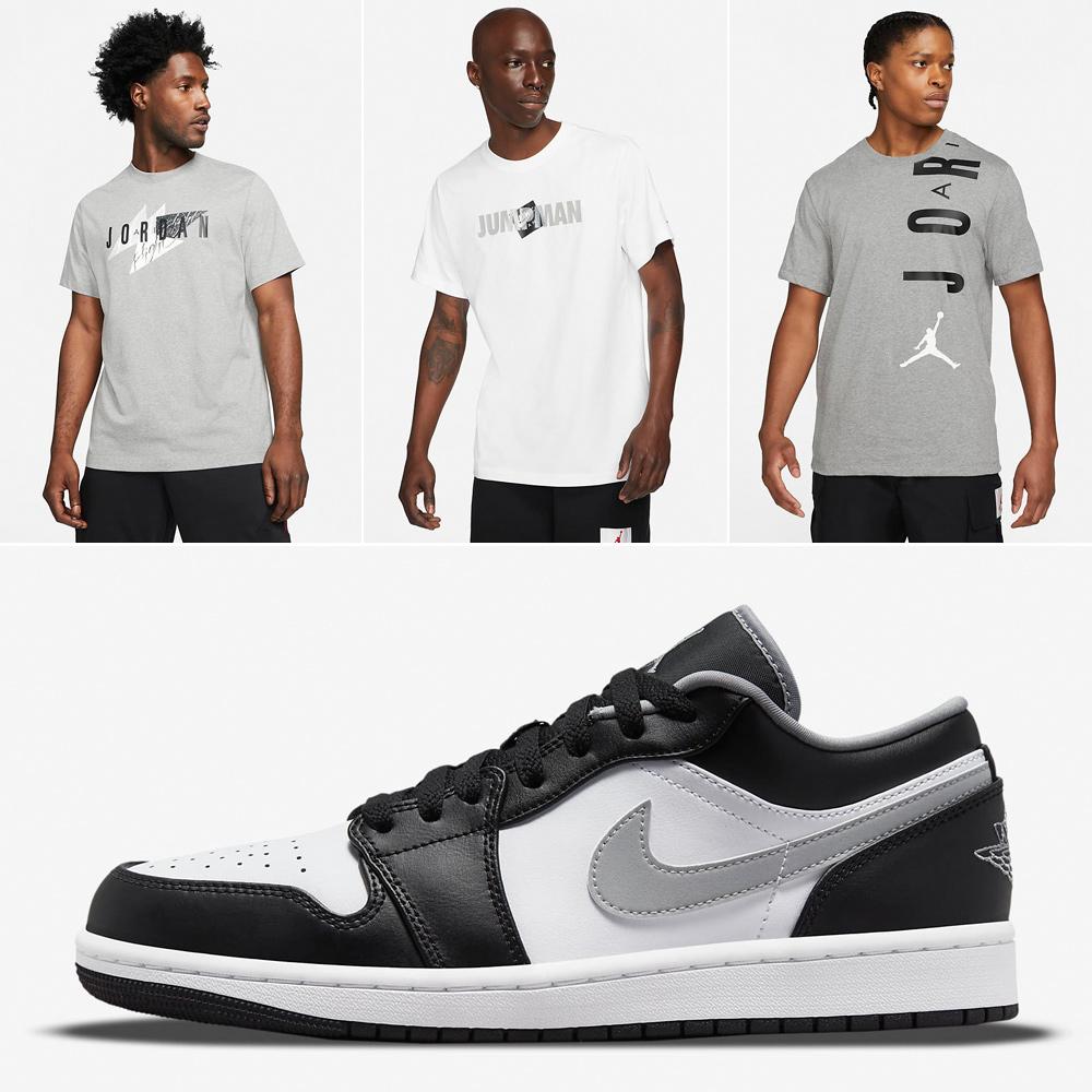 air-jordan-1-low-shadow-black-white-particle-grey-shirts