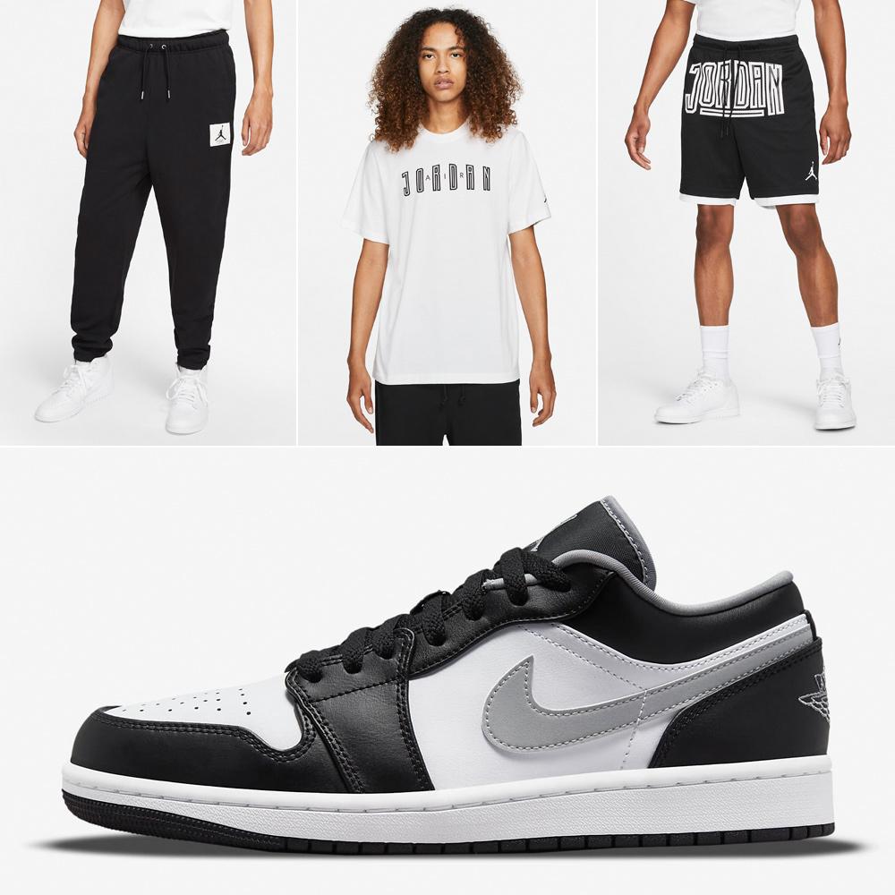 air-jordan-1-low-shadow-particle-grey-shirt-pants-shorts