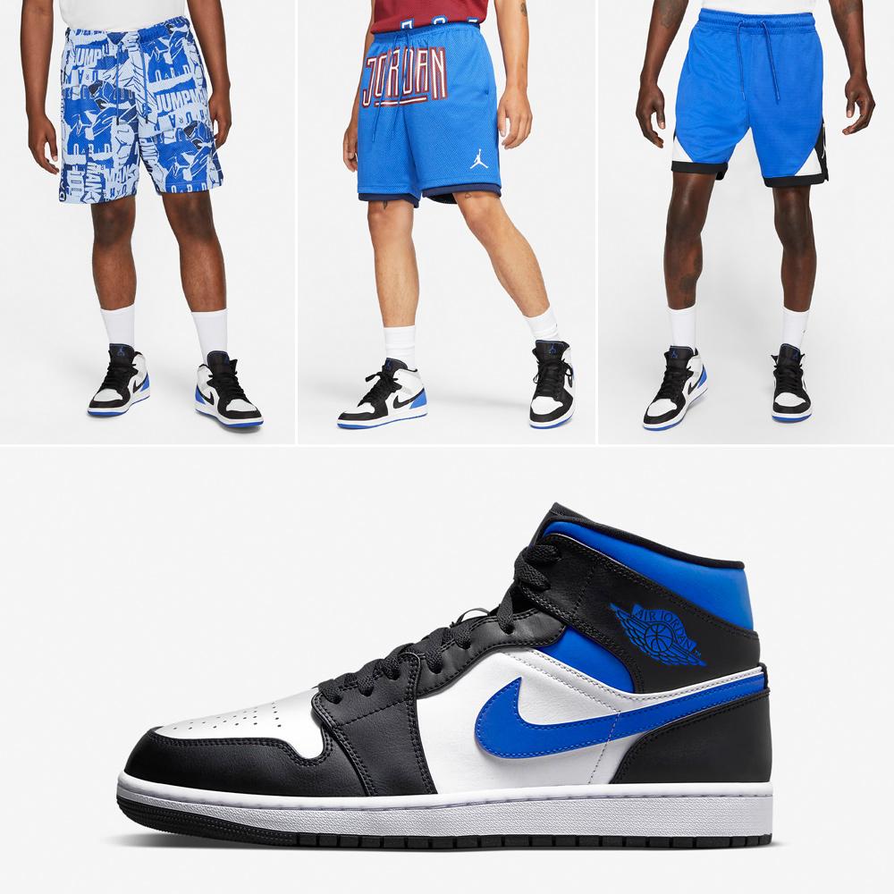 air-jordan-1-mid-racer-blue-shorts