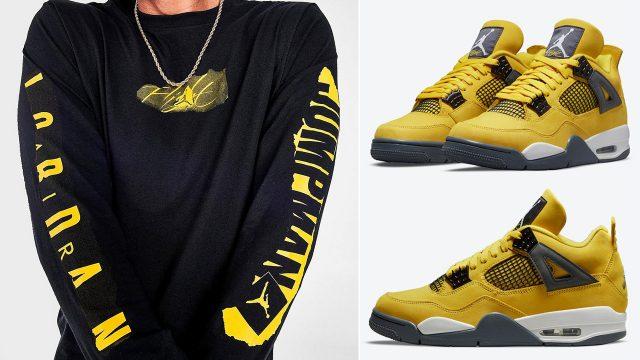 air-jordan-4-lightning-long-sleeve-shirt