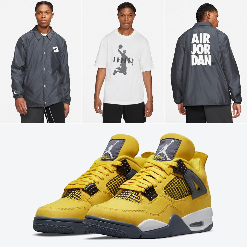 air-jordan-4-lightning-shirt-jacket-outfit