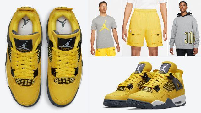 air-jordan-4-lightning-shirts-clothing-outfits