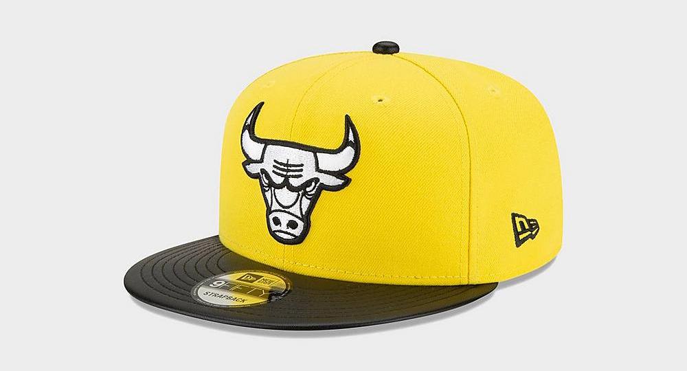 air-jordan-4-lightning-yellow-new-era-bulls-snapback-hat-2