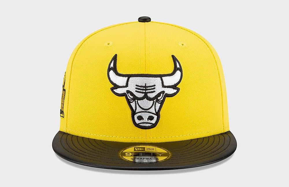 air-jordan-4-lightning-yellow-new-era-bulls-snapback-hat-4