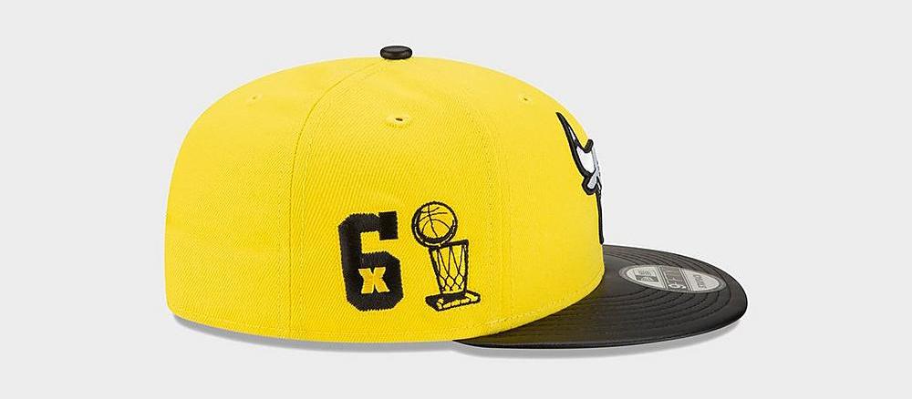 air-jordan-4-lightning-yellow-new-era-bulls-snapback-hat-6