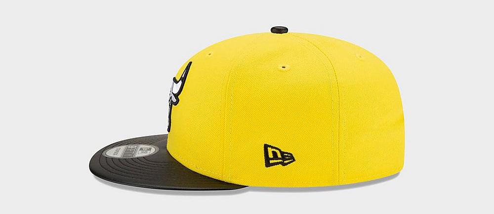 air-jordan-4-lightning-yellow-new-era-bulls-snapback-hat-7