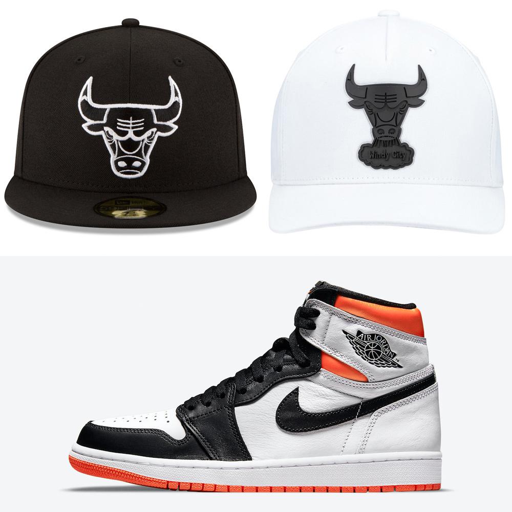jordan-1-high-electro-orange-bulls-hats