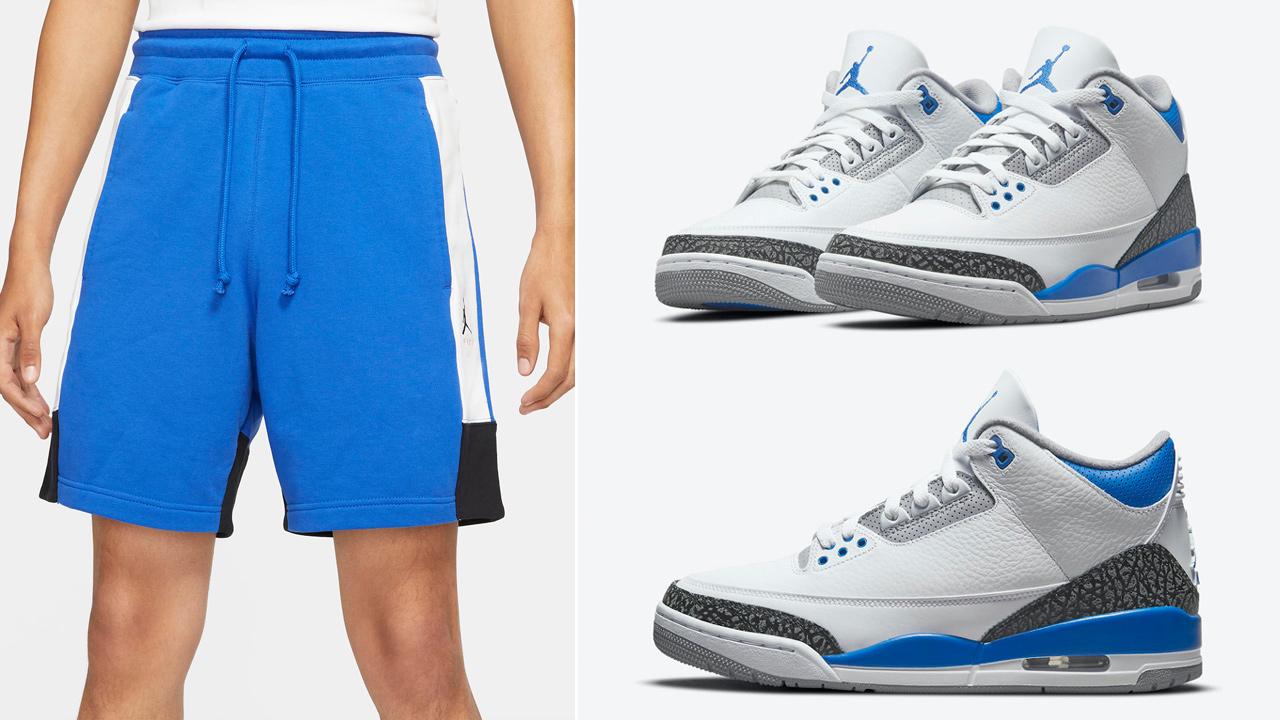 jordan-3-racer-blue-shorts-match