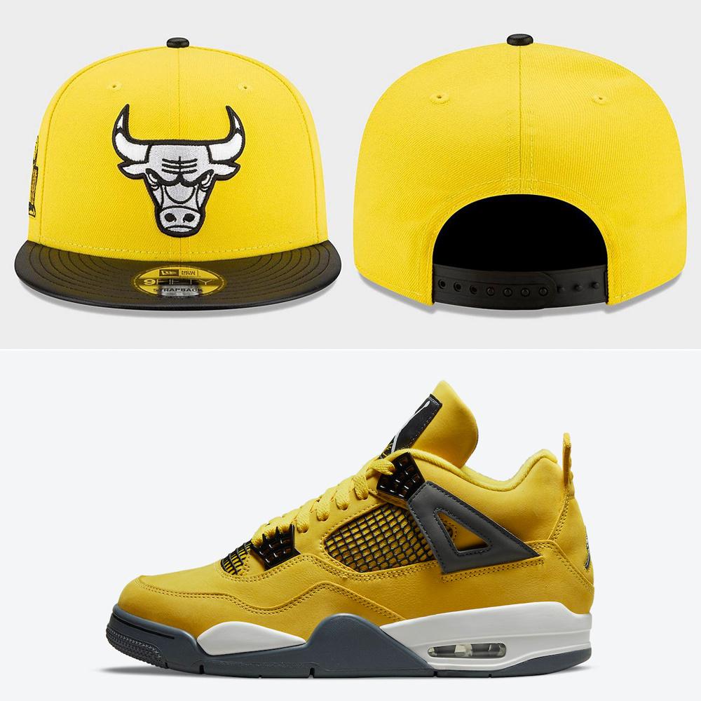 jordan-4-lightning-bulls-new-era-hat
