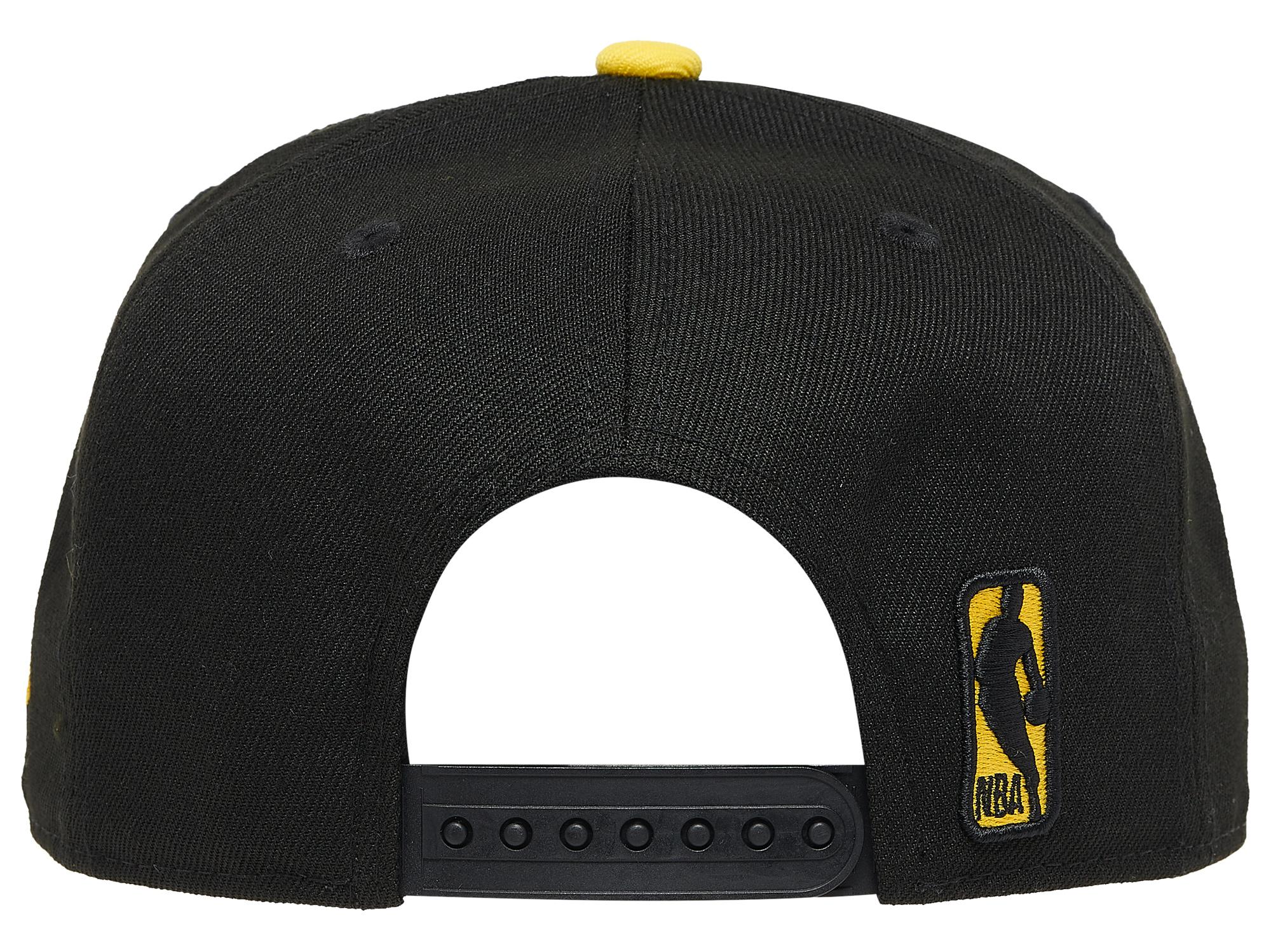 jordan-4-lightning-new-era-bulls-yellow-black-snapback-cap-2