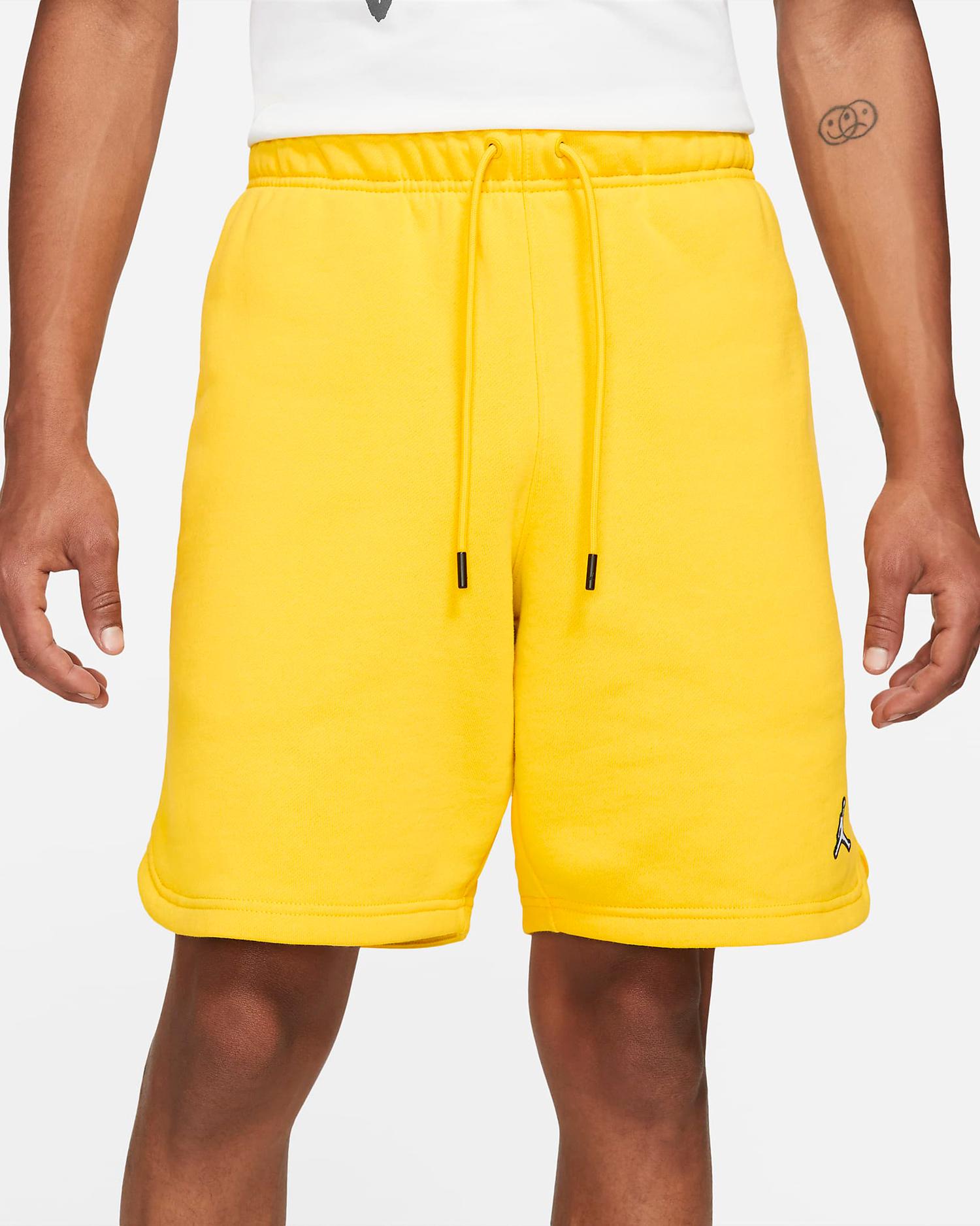 jordan-essential-fleece-shorts-tour-yellow-1