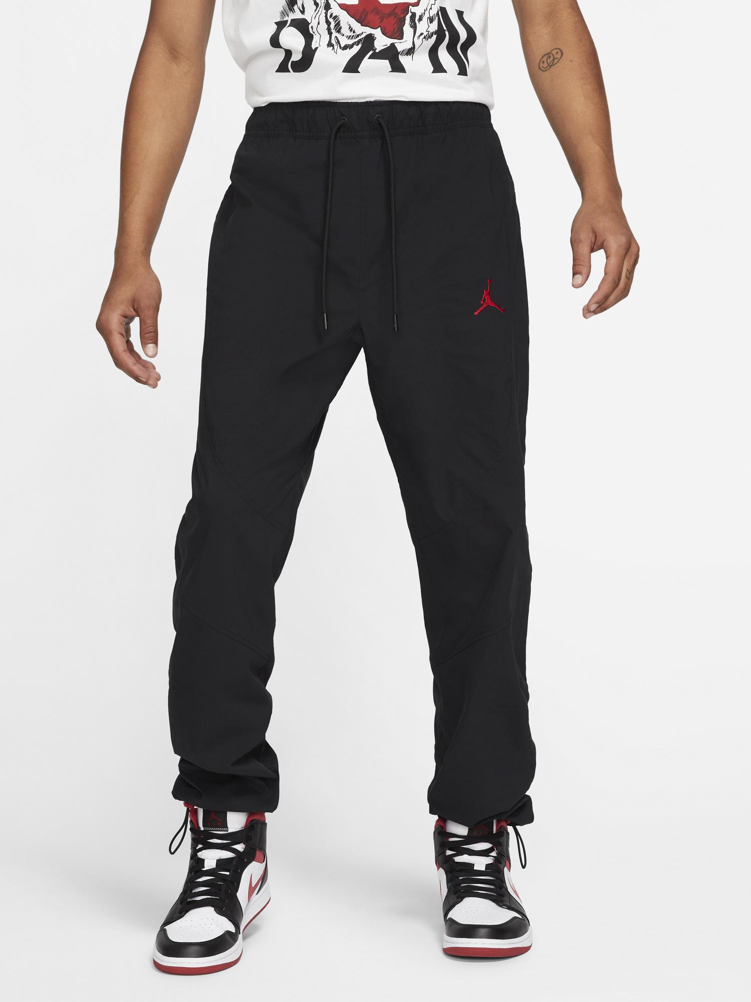 jordan-essential-woven-pants-black-red-1
