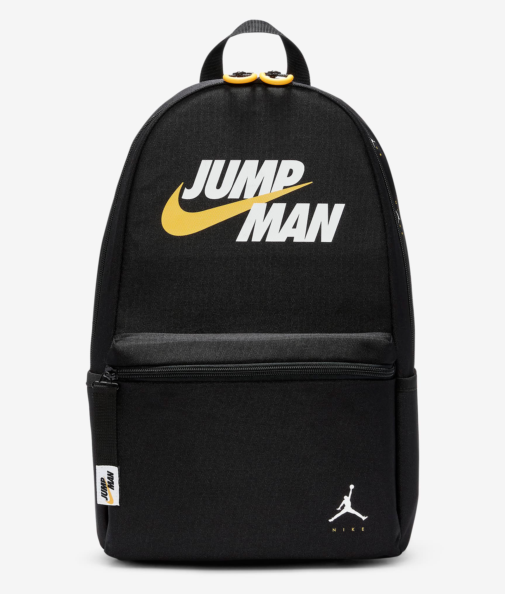 jordan-jumpman-backpack-black-white-yellow